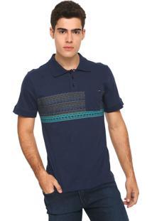 Camisa Polo Rusty Reta Bearhave Azul-Marinho