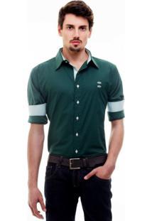 Camisa Hat Trick Coritiba Verde Com Detalhe Branco