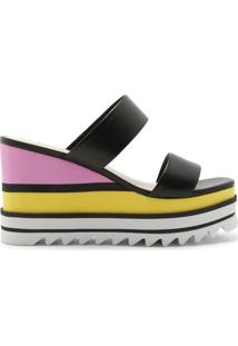 Sandália Anabela Sporty Multicolor/Black | Schutz