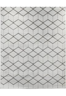 Tapete Ambiance Retangular Poliéster (200X250) Cinza Claro