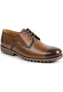Sapato Social Masculino Derby Sandro Moscoloni Ioshua Marrom