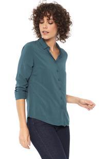 Camisa Hering Básica Verde
