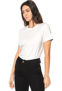 Camiseta Forum Assimétrica Off-White