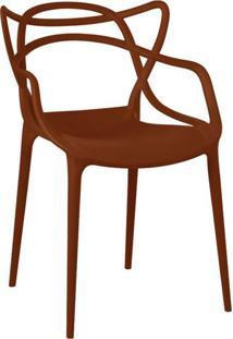 Cadeira De Jantar Allegra Laranja Telha