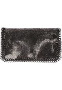 Stella Mccartney Clutch 'Falabella' - Metálico