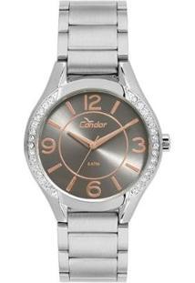 Relógio Condor Feminino Eterna Bracelete - Co2035Krf/K3C Co2035Krf/K3C - Feminino-Prata