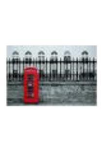 Painel Adesivo De Parede - Londres - Cabine Telefônica - 665Pnp