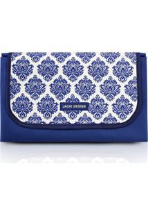 Tapete Para Piquenique Impermeável Tam. G Jacki Design Bella Vitta Azul