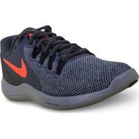 Tenis Masc Nike 908987-006 Lunar Apparent Chumbo Laranja 125c3a328335d