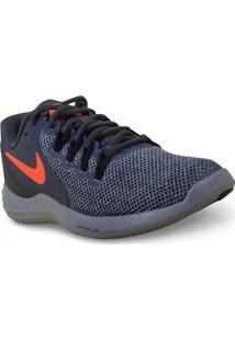 Tenis Masc Nike 908987-006 Lunar Apparent Chumbo/Laranja