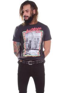 Camiseta Levi S Photo - Masculino-Preto