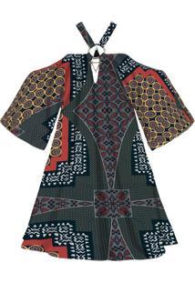 Vestido Estampado Amplo Tanzania - Lez A Lez