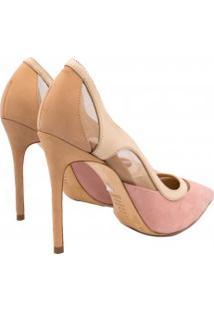 Sapato Schutz Scarpin Curves Salto Alto