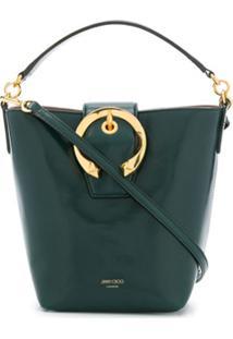 Jimmy Choo Bolsa Bucket Madeline - Verde