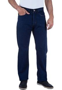 Calça Jeans Masculina Azul - 46