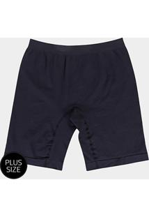 Shorts Modelador Lupo Sem Costura Plus Size - Feminino