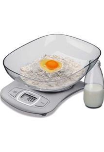 Balança Digital De Cozinha Brinox 5Kg - Inox