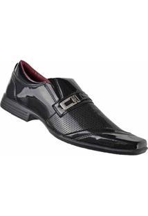 Sapato Social D&R Shoes Masculino - Masculino-Preto