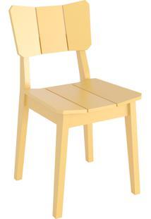 Cadeira Uma - Amarelo Claro