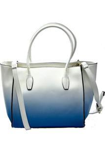 Bolsa Its! Tote Degradê Azul