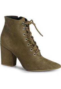 Ankle Boots Fena Suede Verde Verde