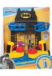 Imaginext Batalha Na Batcaverna Dc Fisher-Price Preto