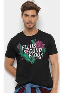 Camiseta Ellus 2Nd Floor Basic Western Masculino - Masculino