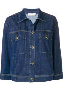 L'Autre Chose Jaqueta Jeans - Azul