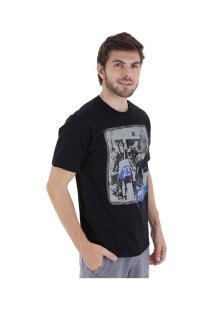 Camiseta Fatal Estampada 20336 - Masculina - Preto
