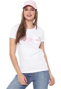 Camiseta Hurley Damino Stripe Branca