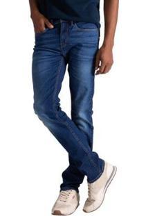 Calça Jeans Levis 511 Slim Masculina - Masculino-Azul