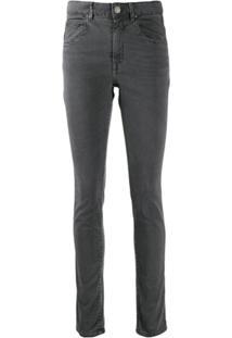 Isabel Marant Étoile Calça Jeans Skinny - Cinza