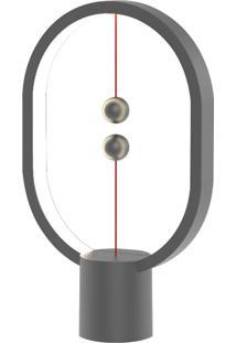 Luminária Led Heng Elg Lâmpada M Interruptor Magne Cinza