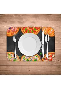 Jogo Americano Wevans Pizza Italian Kit Com 6 Pã§S - Multicolorido - Dafiti