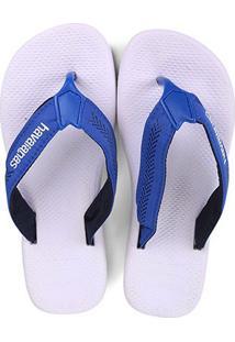 Chinelo Havaianas Surf Pro Masculino - Masculino-Branco+Azul