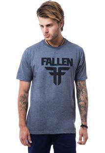Camiseta Fallen Classic Cinza Escuro