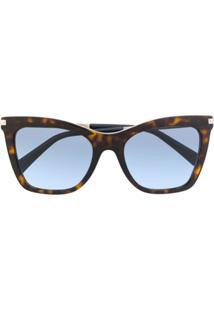 Valentino Eyewear Cat Eye Sunglasses - Marrom