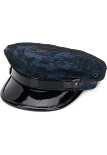 f9a3eb5ba9b47 ... Dsquared2 Chapéu Jeans - Azul