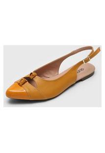 Sapatilha Dafiti Shoes Torção Amarela