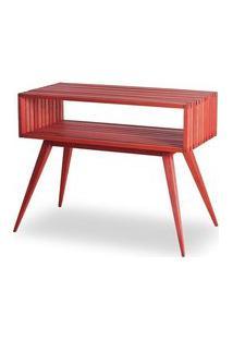 Aparador Dominoes Estrutura Vermelha 73Cm - 61463 Sun House