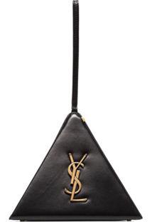 Saint Laurent Bolsa 'Pyramid Box' - Preto