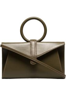 Complét Bolsa Tote Envelope 'Valery' - Verde