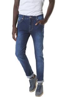 Calça Jeans Sommer Slim Matheus Azul