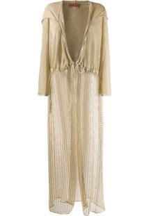 Missoni Mare Crochet Knit Cardigan - Dourado