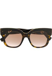 23cd654ff Óculos De Sol Fendi Marrom feminino   Gostei e agora?