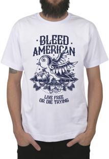 Camiseta Bleed American Swallow Branca