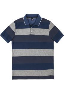 0ac81c4661 Hering. Camisa Polo Masculina Básica Listrada ...
