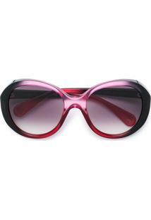 fc21bd691670a ... Gucci Eyewear Óculos De Sol Degradê - Rosa