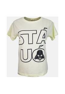 T-Shirt Stá Uó Amarelo