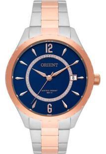 ae47d70db2f ... Relógio Feminino Orient Swarovski Ftss1118D2Sr - Unissex-Prata